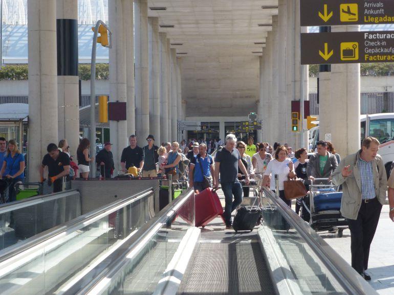Aeropuerto de Son Sant Joan.