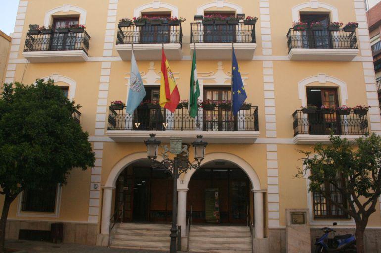 Fachada del Ayuntamiento de Almuñécar
