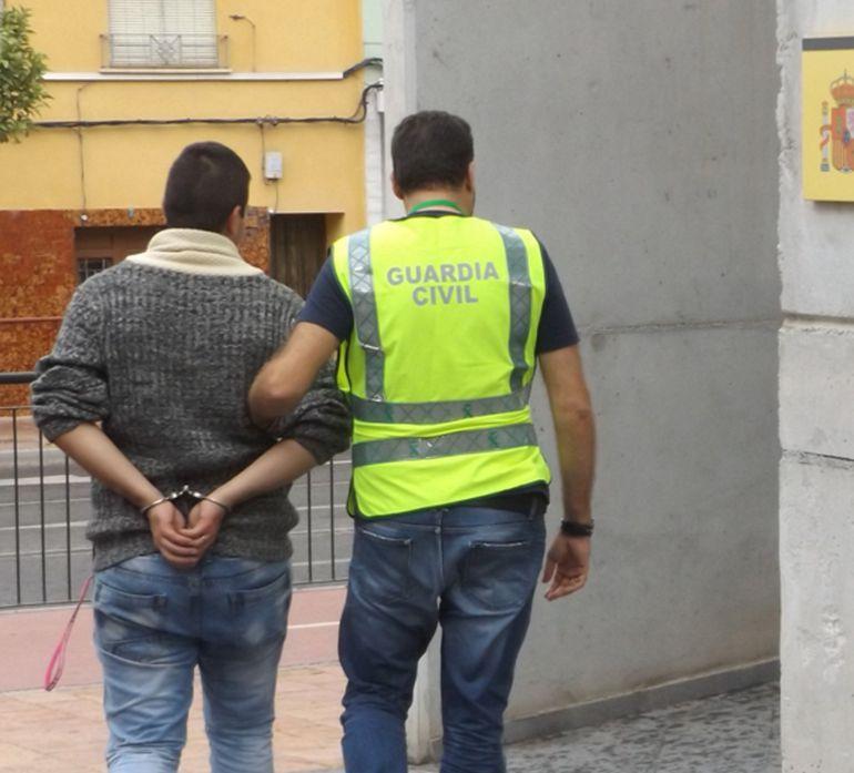 Detenido por el robo de medio centenar de corderos en una finca de Puerto Lumbreras