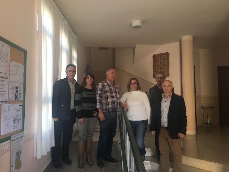 La presidenta de la Diputación ha visitado Loma de Castrejón