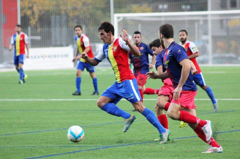 Imatge d'un partit del FC Andorra.