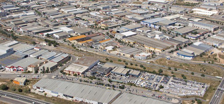 Vista aérea del Polígono Fuente del Jarro