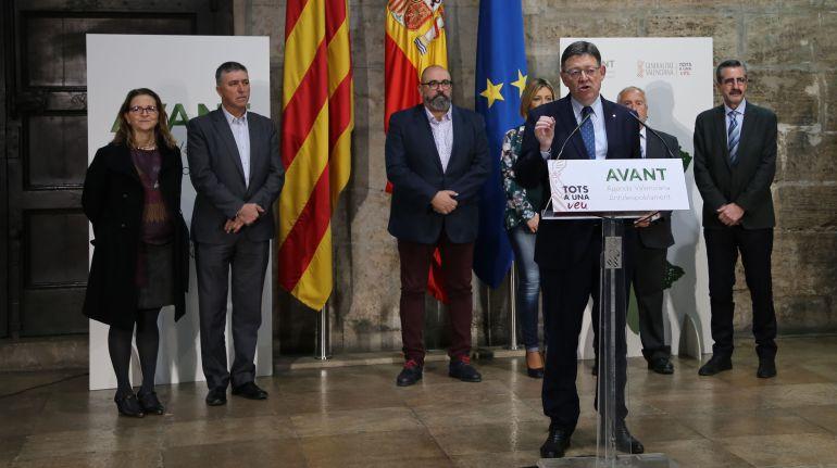 Ximo Puig habla de financiación