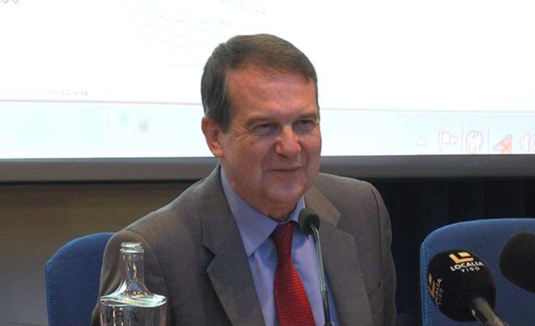 Abel Caballero durante una rueda de prensa.