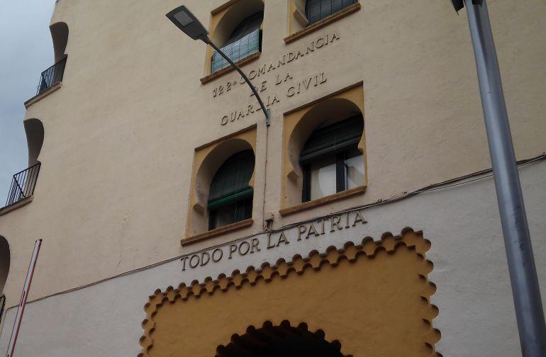 Fachada de la Comandancia de la Guardia Civil en Ciudad Real