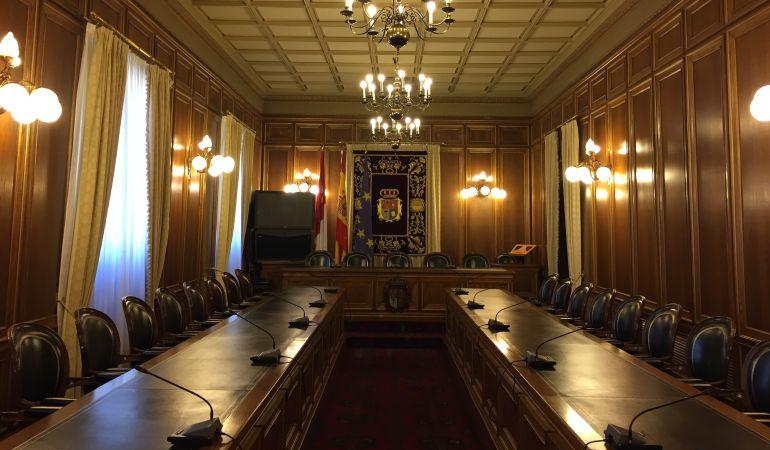 Salón de plenos de la Diputación de Cuenca