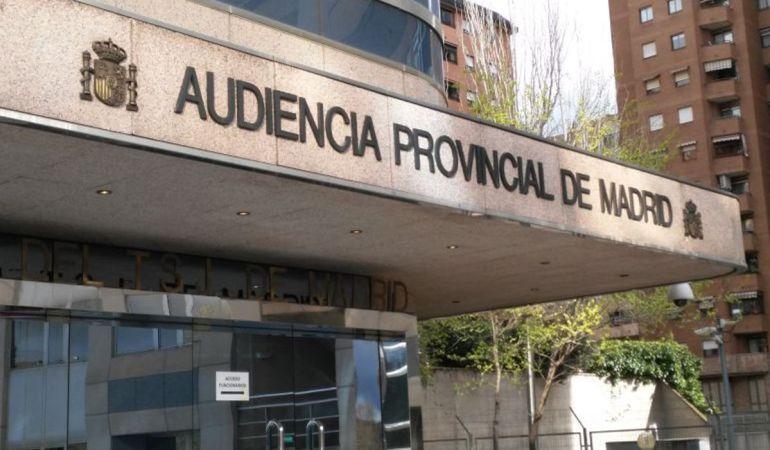 El juicio comienza este lunes en la Audiencia Provincial de Madrid
