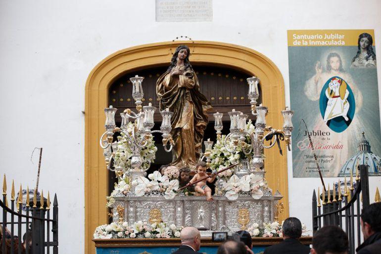 La virgen procesionará por las principales calles de La Línea.