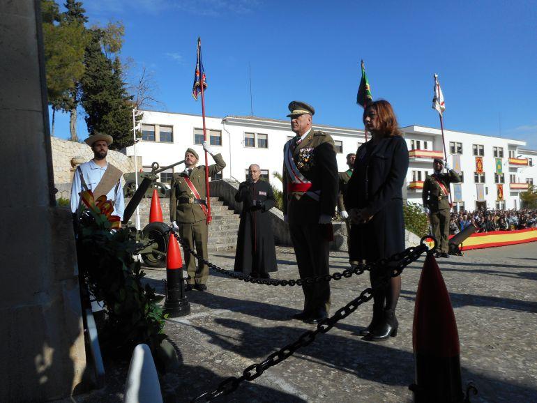 El Acuartelamiento Jaime II celebra su 125 aniversario de su patrona Inmaculada Concepción