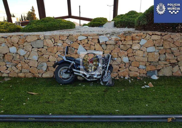 Herido un motorista en un accidente en Juan de Borbón