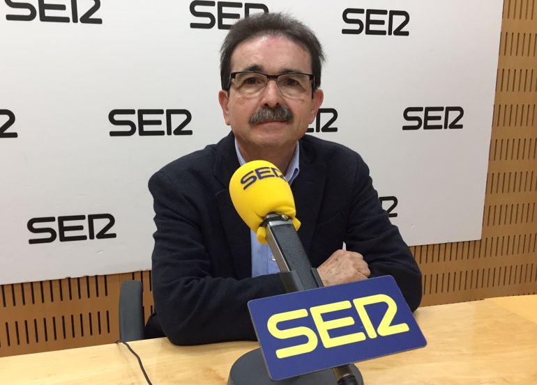 Francisco Victoria, jefe del Servicio de Fomento del Medio Ambiente y Cambio Climático de la Consejería de Cultura, Turismo y Medio Ambiente