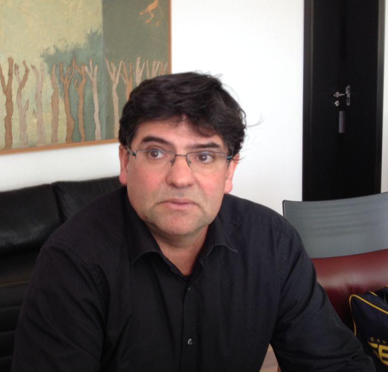 Miguel Ángel Pavón, portavoz de Guanyar Alacant
