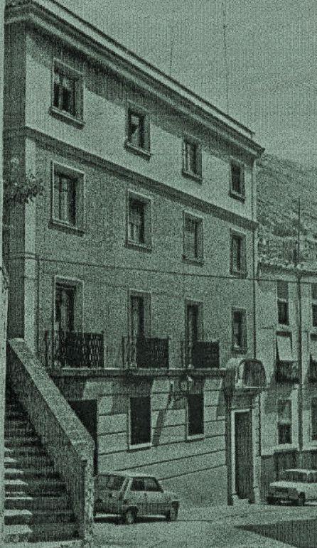 Actual sede del Centro de Discapacitados Intelectuales 'Infantas de España' en la calle Alonso de Ojeda de Cuenca, sede hasta los años 40 del siglo XX del Teatro Principal, antes de la Paz y antes El Liceo.