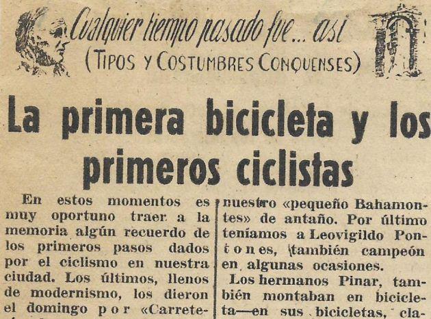 Sección 'Tipos y costumbres conquenses'.