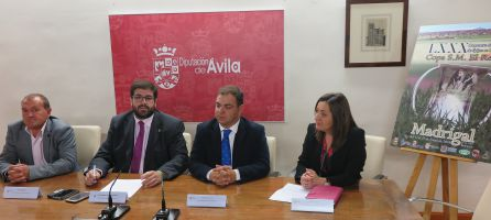 Un momento de la rueda de prensa, en donde se ha presentado el Campeonato de España