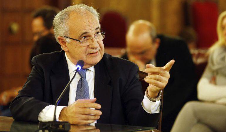 Rafael Blasco declarando ante los tribunales