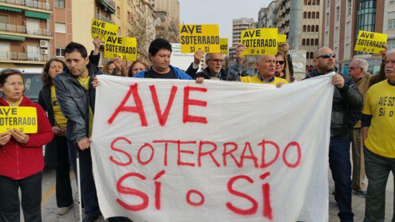 La Marea Amarilla, en una protesta anterior