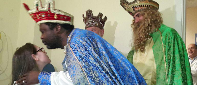 Los Reyes Magos en el Materno
