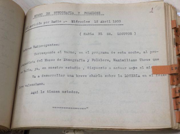 """""""Lotería de Navidad en 1933"""""""