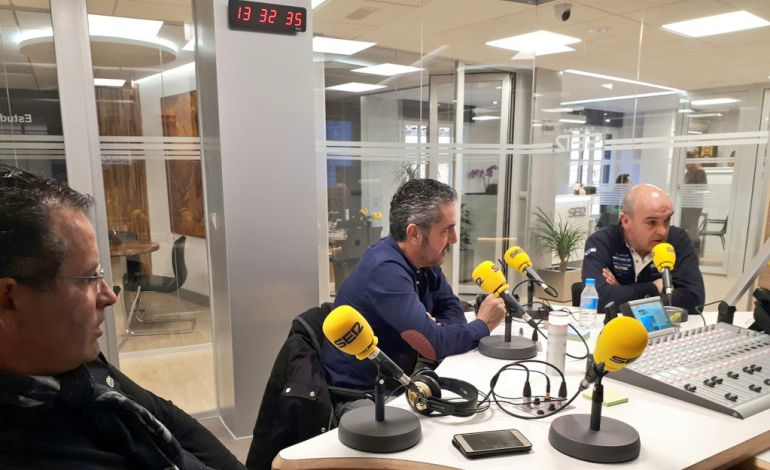 Javier Arroyo, Pedro Miguel y Jesús Briones