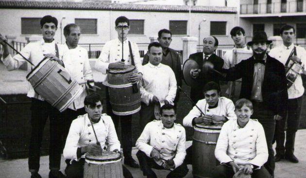 Parranda del Orfeón Benéfico en 1967.