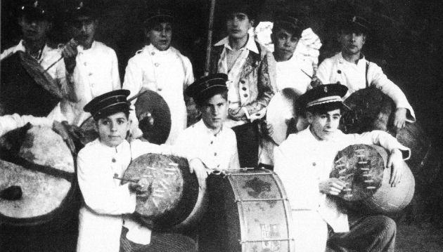 Parranda del Orfeón Benéfico en 1951.