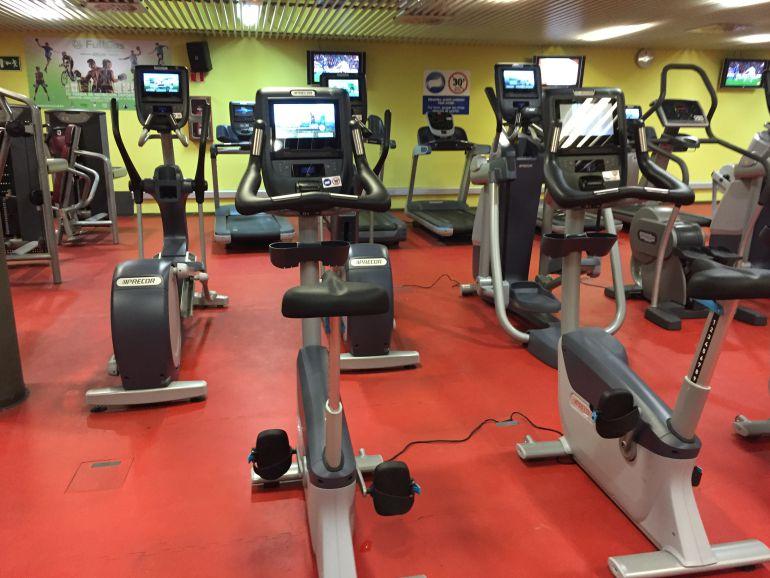 Nuevas máquinas de cardio en el la sala fitness de Azken Portu.