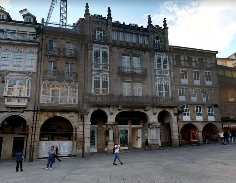 Sede de Afundación en la Plaza Mayor de Ourense