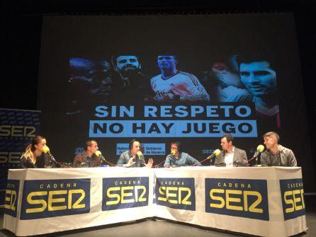 """La campaña """"Sin respeto no hay juego"""" llega a Navarra"""