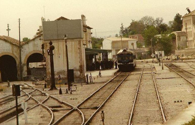 Tren por Baza en los años 70