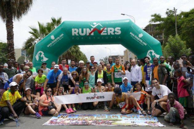 Participantes en la ultima expedición de Runners for Ethiopia