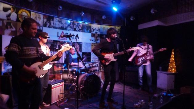 El grupo musical Nervio en concierto en Granada