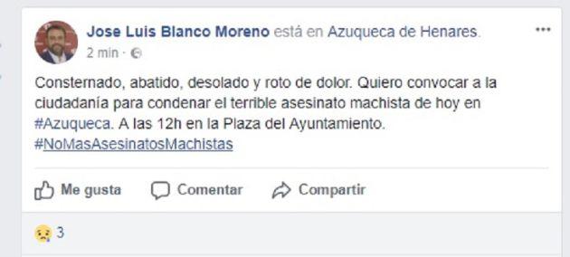 Asesinada una mujer por su pareja en Azuqueca delante de tres menores