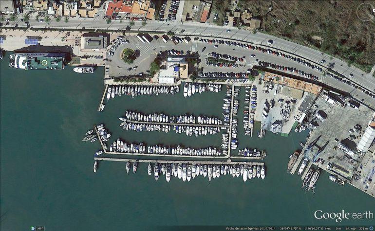 Vista aérea de la zona donde estará ubicado el aparcamiento