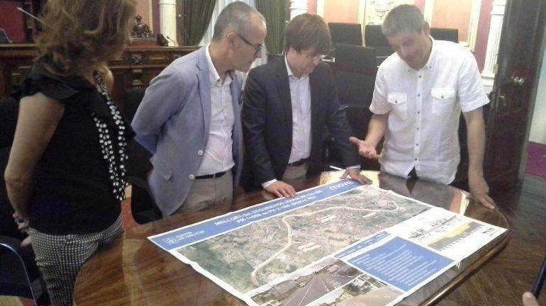 Adxudicaron un total de 10 obras, a maioría do Plan de Investimentos, en diferentes puntos da cidade.