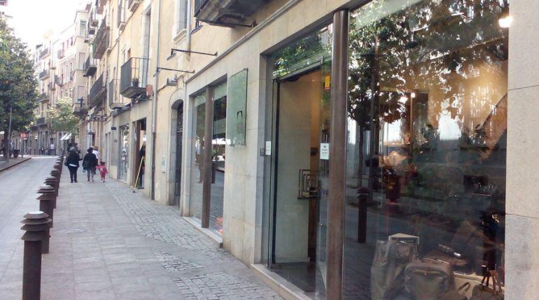 Un carrer de Girona.