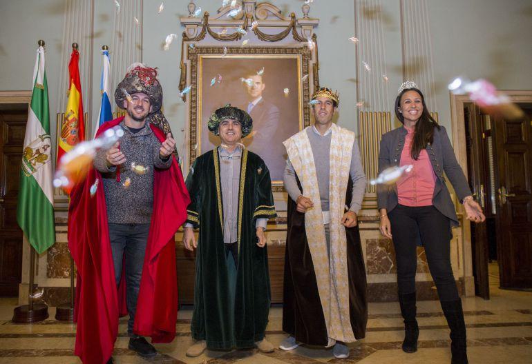 Los Reyes Magos en Huelva