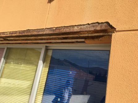 Desperfectos obsevados en las ventanas