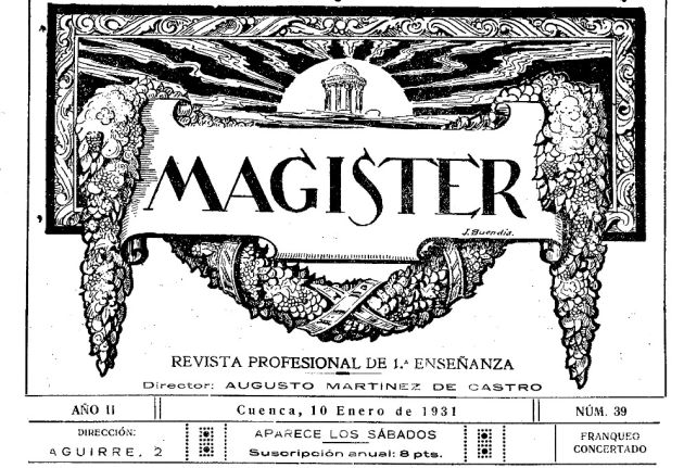 Revista 'Magister'.
