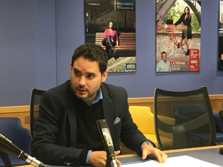 David Caballero, portavoz de Ciudadanos
