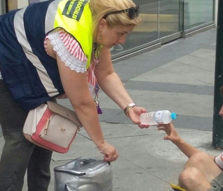Obligaba a su madre de 80 años a mendigar en las calles de Murcia