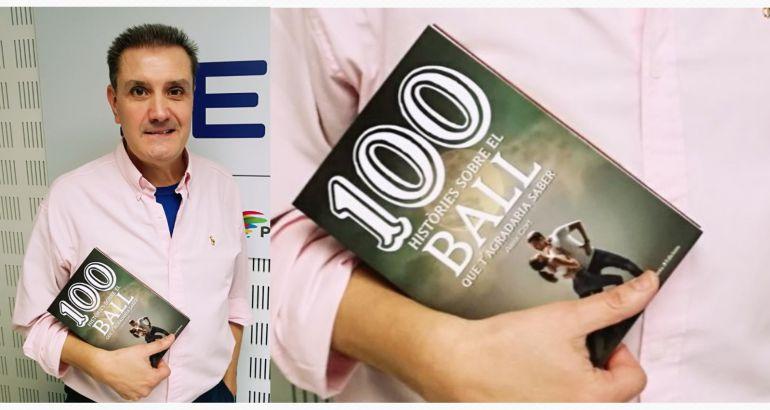 """Aleix Cort autor de """"100 històries sobre el Ball que t'agradaria saber""""."""