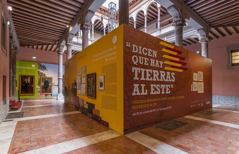 """La muestra """"Dicen que hay tierras al Este"""" se puede ver en el Palacio de Sástago hasta este domingo, día 7 de enero"""