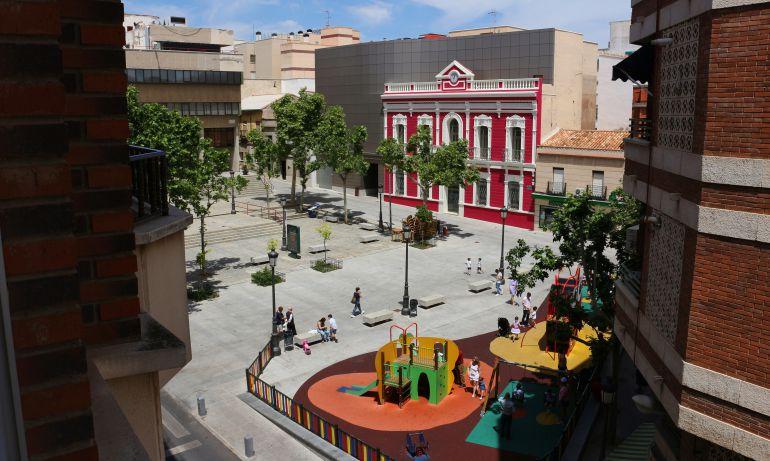 Panorámica de la Plaza Constitución de Puertollano