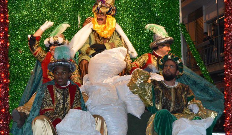 Imagen de la Cabalgata de los Reyes Magos en 2017.