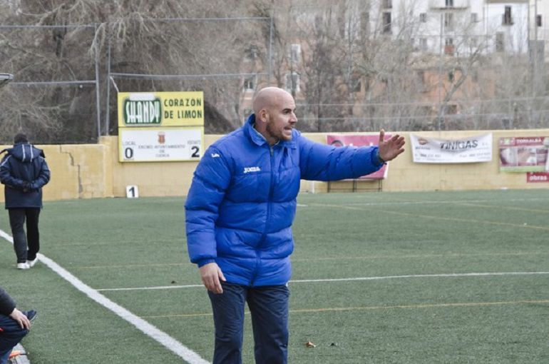 Fran García nuevo entrenador del CD Marchamalo: Fran García nuevo entrenador del CD Marchamalo