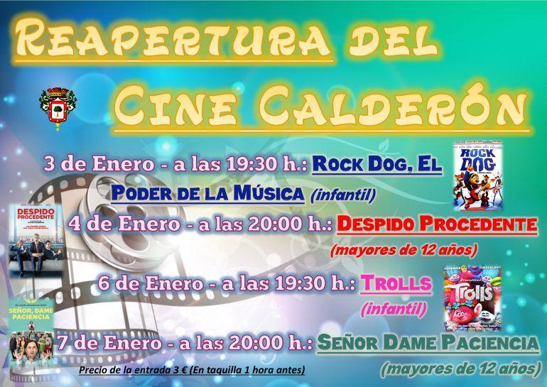 El ayuntamiento de Almazán proyecta películas en el cine Calderón después de una década