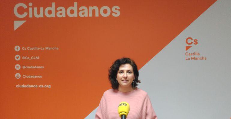 Orlana de Miguel, portavoz de Ciudadanos en Castilla-La Mancha