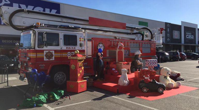 Un camión de bomberos sin bomberos, es lo que ocurrirá en la cabalgata de Reyes de Toledo de este viernes 5 de enero