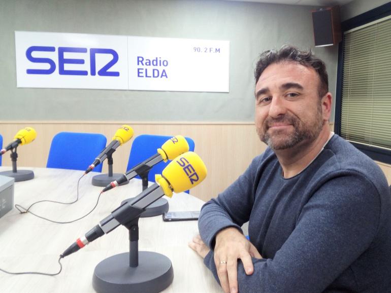 Octavio Peidró, director de la Orquesta Sinfónica Teatro Castelar, en Radio Elda